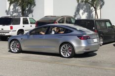 Silver-Tesla-Model-3-test-mule-SpaceX-1024x676